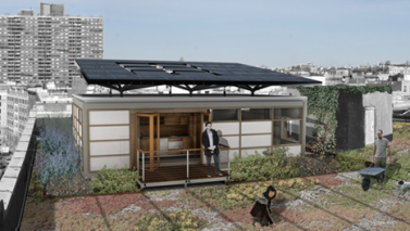 Solar Rooftop in NYC – Green Building Products from Solar Decathlon