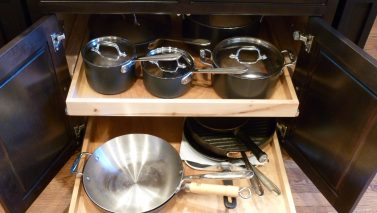 More Storage & Enjoyment from DIY Kitchen Remodeling Tricks