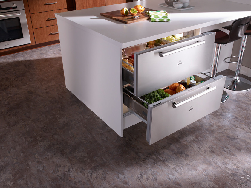 Kitchen refrigerator drawers for Latest trends in kitchen appliances