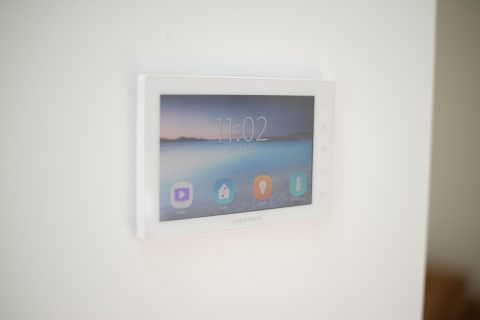 Crestron Smart Home Touch Pad