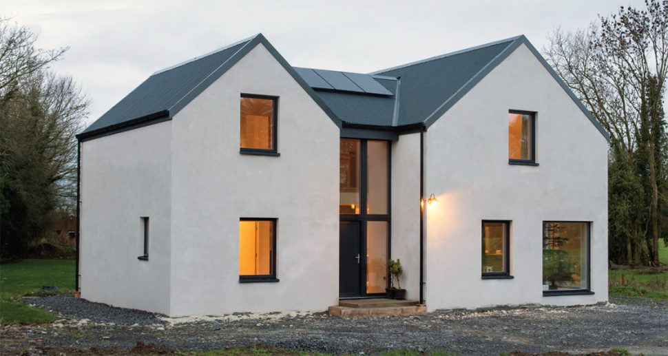 Farmhouse Inspired Home Goes Passive House On A Shoestring