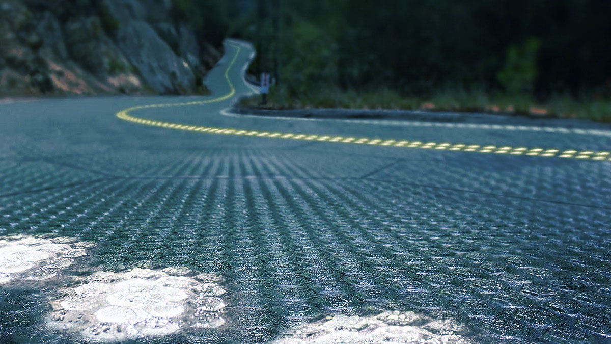 Solar Road In Use