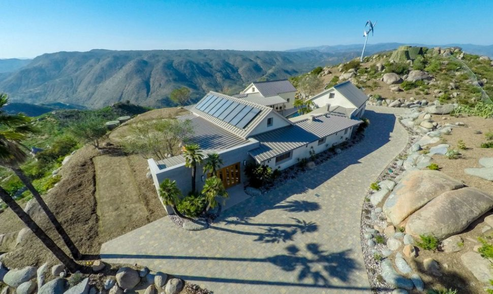 Wind Power in San Diego Home