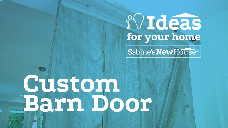 Custom Barn Door