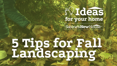 5 Tips for Fall Landscaping