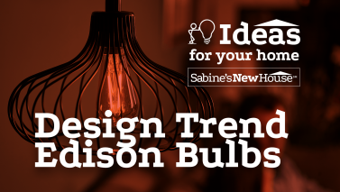 Design Trend Edison Bulbs