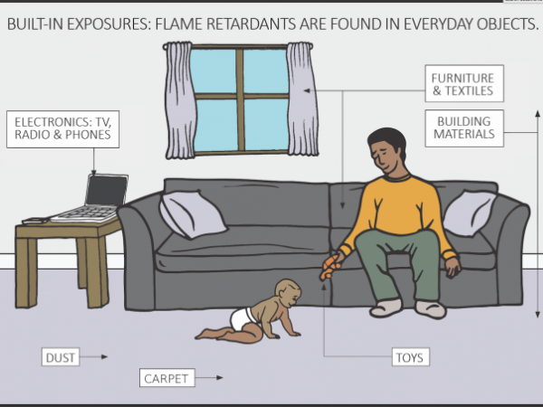 Toxic Flame Retardant Chemicals