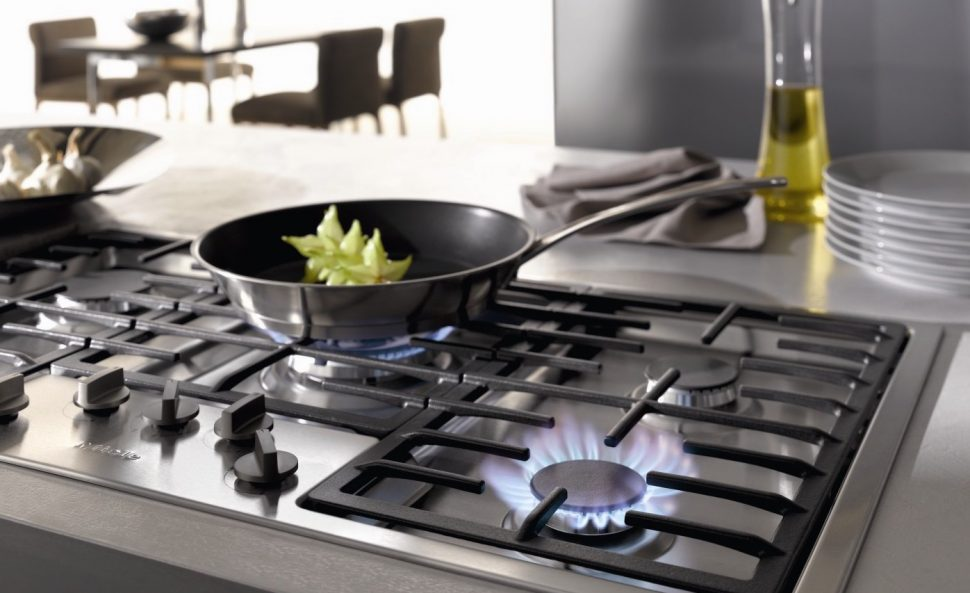 Commercial-Style Cooktops